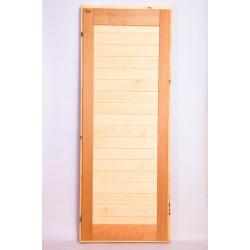 Дверь ольха-липа комбинированная глухая 1.9 на 0.7, 1.8 на 0.7