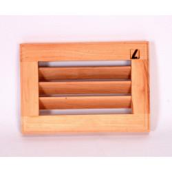 Вентиляционная решетка жалюзи ольха